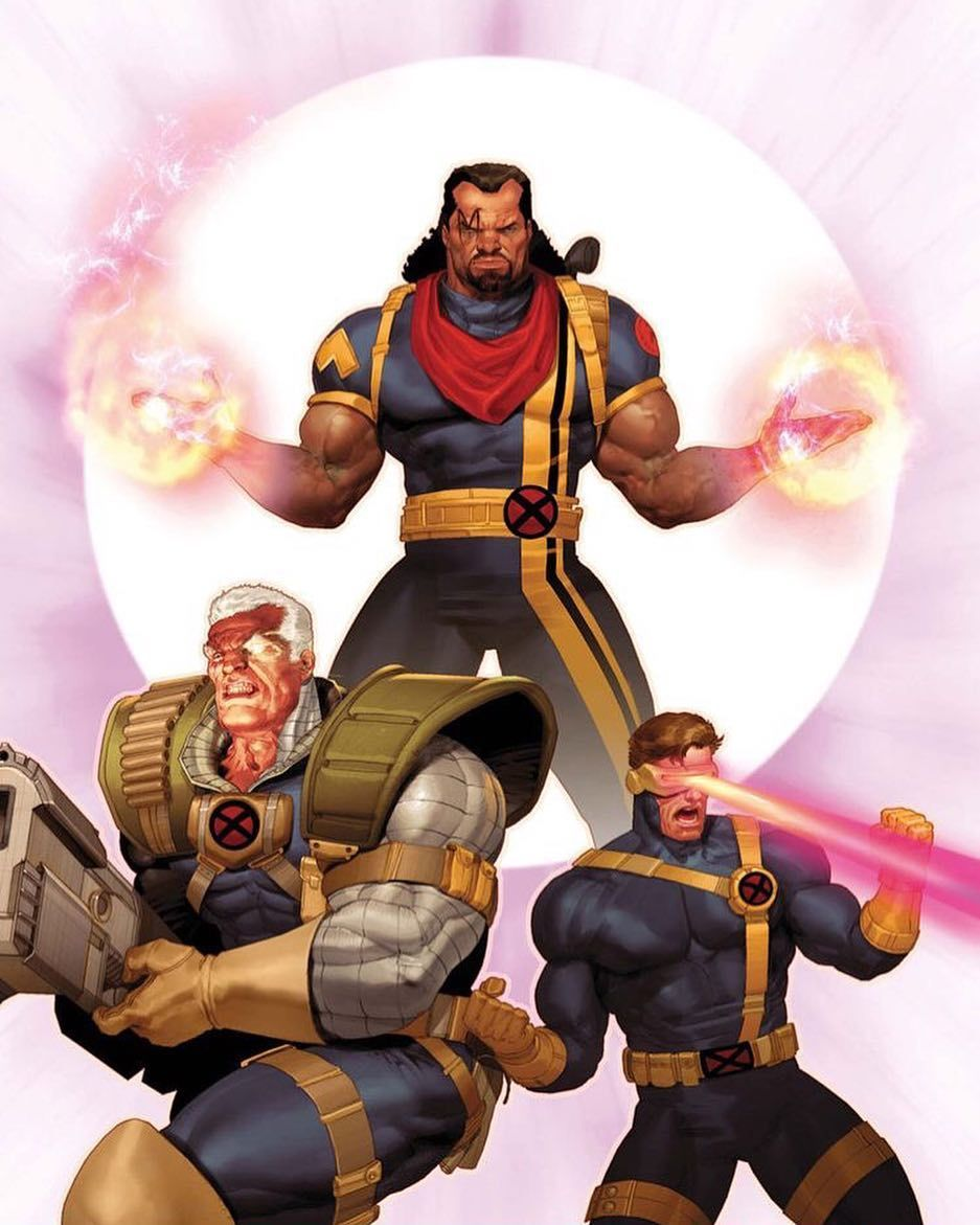The Father The Son and the Holy Bishop by Ariel Olivetti ... X Men Ariel