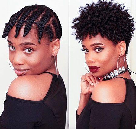 20 Peinados Cortos Afro Para Damas Negras Afro Black