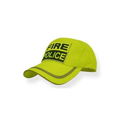 NEON GREEN POLICE HAT
