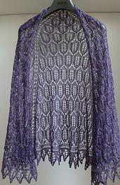 Ravelry: Night Garden Shawl pattern by Cath Ward