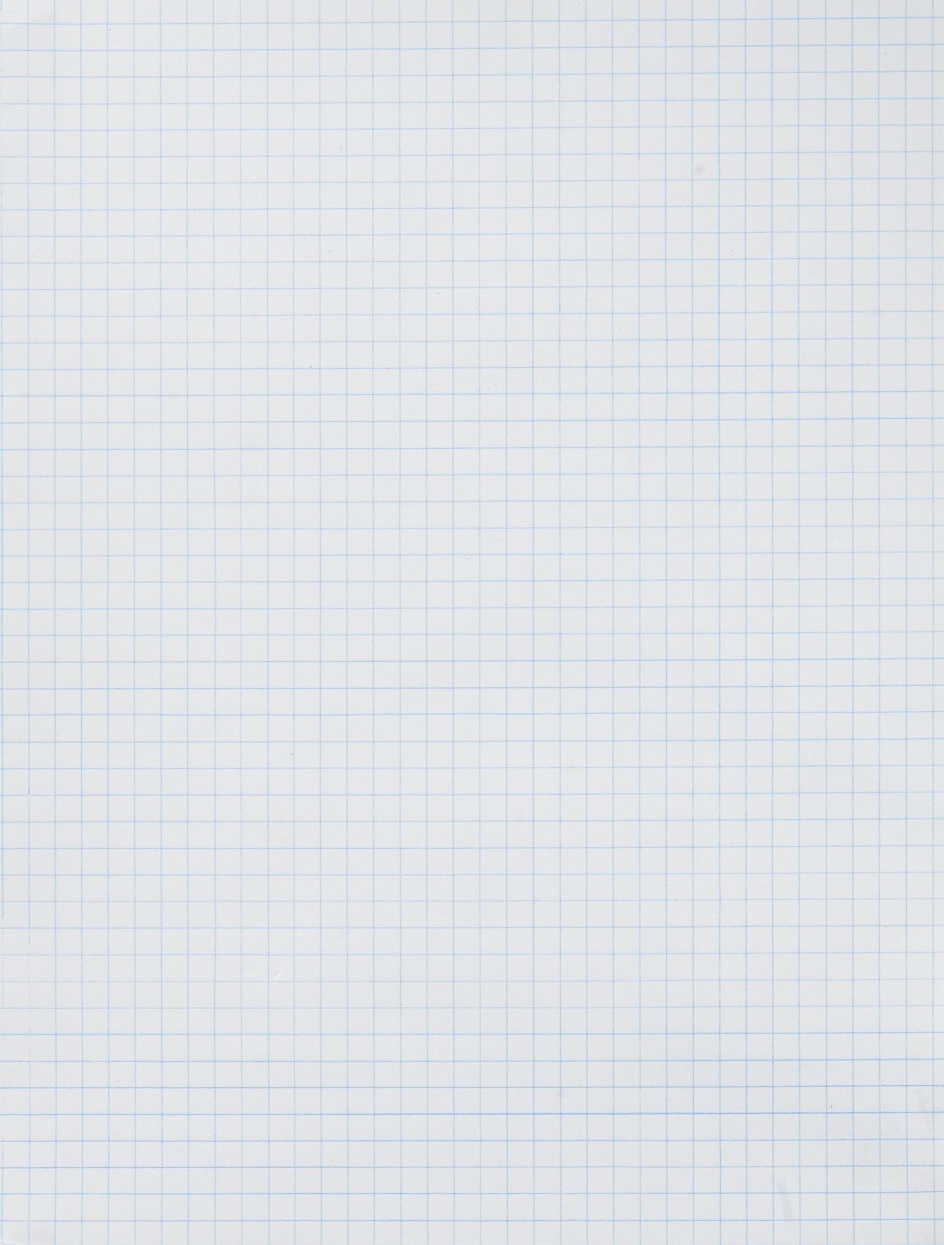 School Smart Graph Paper 1 4 Inch Rule 9 X 12 Inches White