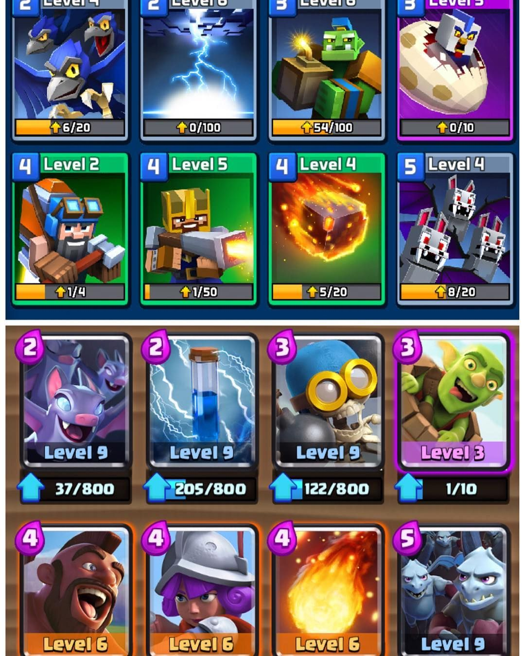 Hey Guys I Ve Recently Recorded A Video Comparing A Deck On Clash Royale To Craft Royale It S Funny That Both Decks Clash Royale Deck Youtube Gamer Short Film