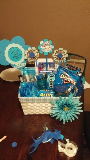 co worker going away basket crafts pinterest gifts gift