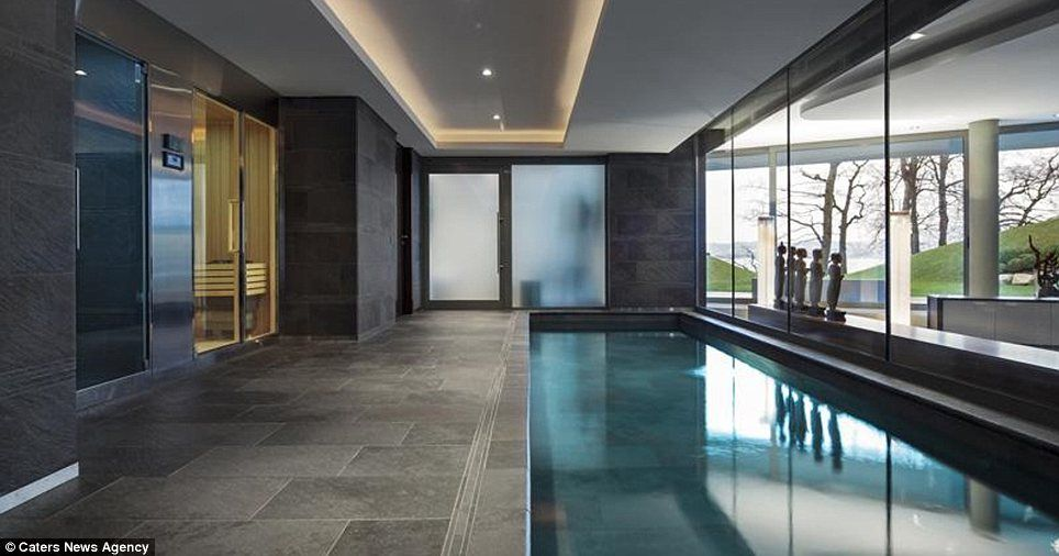 Chilling Out The Indoor Swimming Pool Which Is Accompanied By A Sauna And Spa