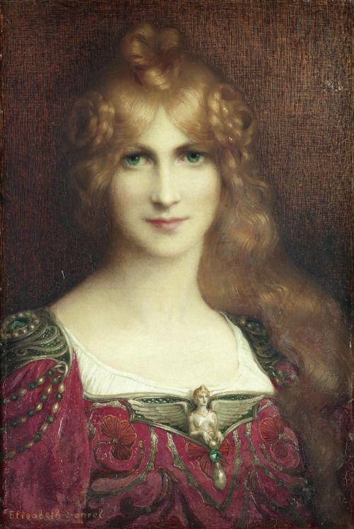Young Woman - Elisabeth Sonrel