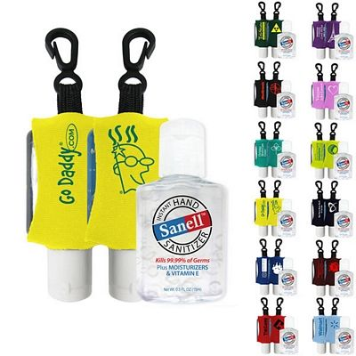 Antibacterial Hand Sanitizer With Neoprene Sleeve Hand Sanitizer