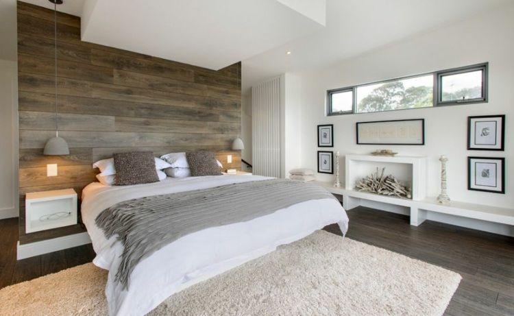 Fausse cheminée: quelques idées comment la décorer | Chambre coucher ...