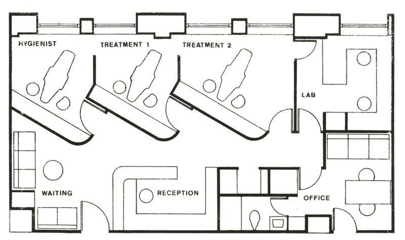 Dental Office Floor Plan Design