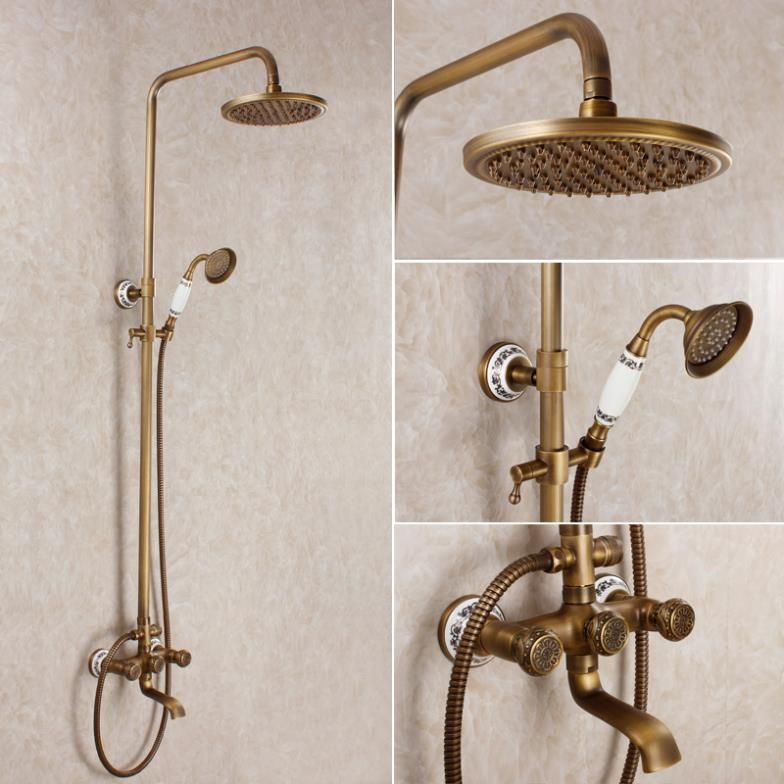 Find More Shower Heads Information about Fashion antique bathroom ...