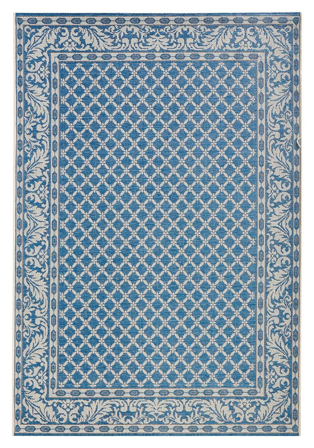 Outdoor Teppich Blau In Und Outdoor Teppich Bougari Royal Blau 102476 In 2019