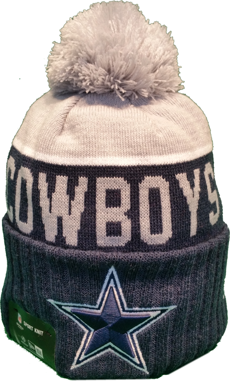 Dallas Cowboys Sideline Knit Pom Toque Dallas cowboys