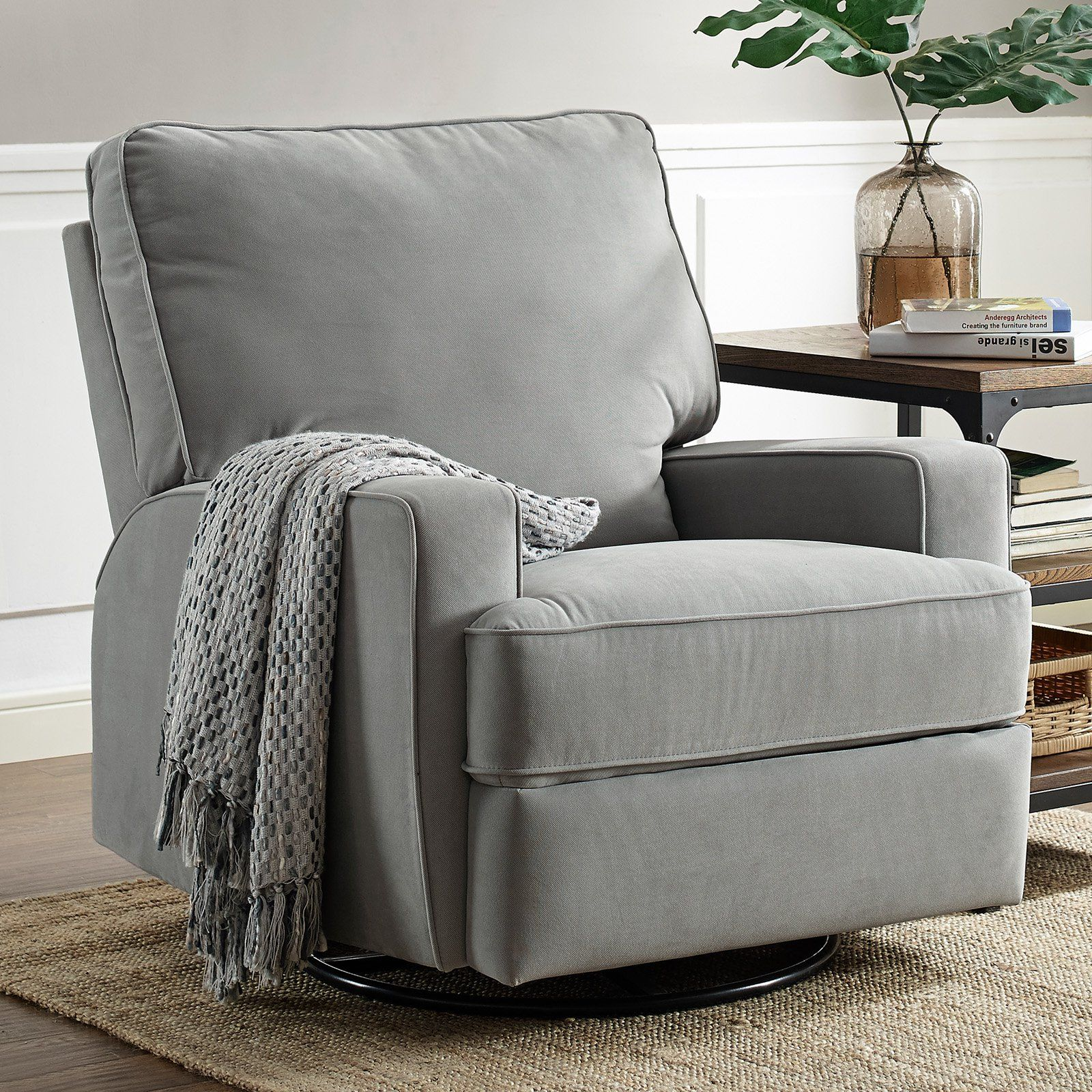 Baby Relax Rylan Swivel Gliding Recliner   from hayneedle.com. In ...