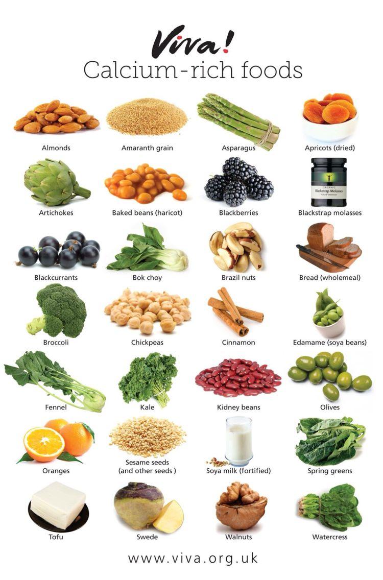 Calcium Rich Food calcium rich foods Vegan nutrition