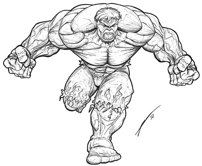 Hulk Zeichnung 1106 Malvorlage Hulk Ausmalbilder Kostenlos Hulk