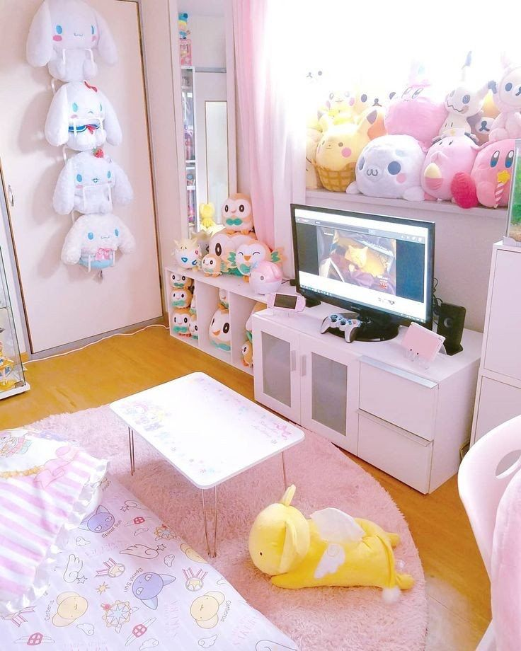 future room very simple but cute kawaii room cute on cute girls bedroom ideas for small rooms easy and fun decorating id=11623