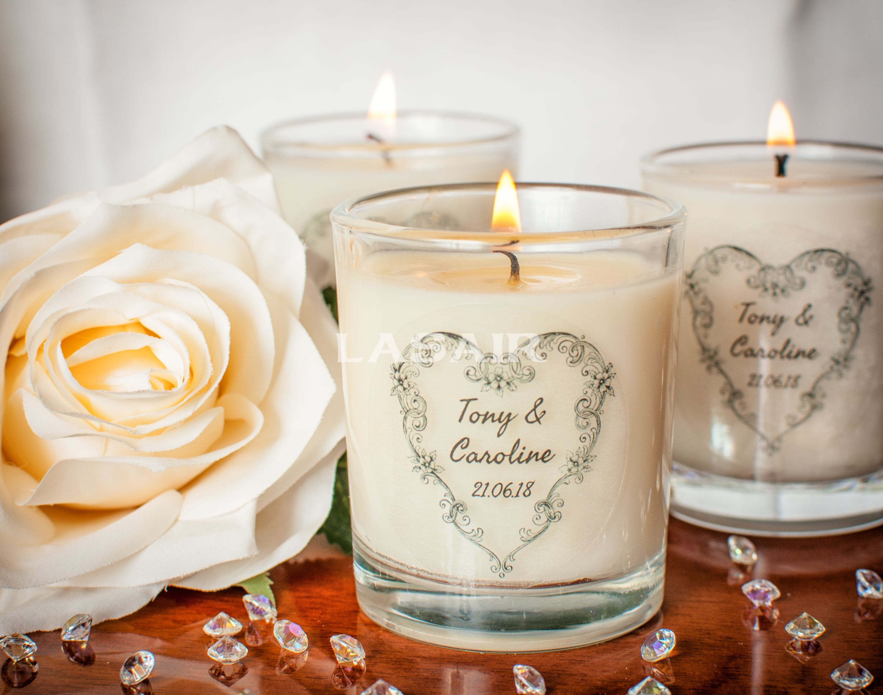 Add a touch of class to your special day with our handmade ...