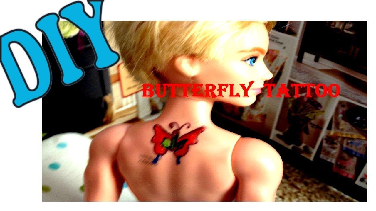 Photo of Diy Miniature/How To Tattoo Your Doll With Sharpie Permanent markers