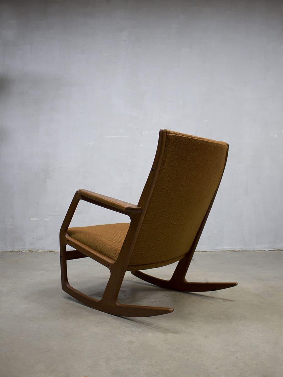 Betere Midcentury design rocking chair Georg Jensen Kubus vintage AC-39