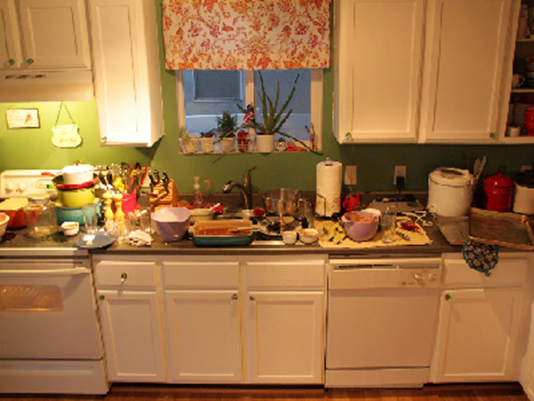 Image Result For Messy Kitchen Kitchen Clutter Messy Kitchen