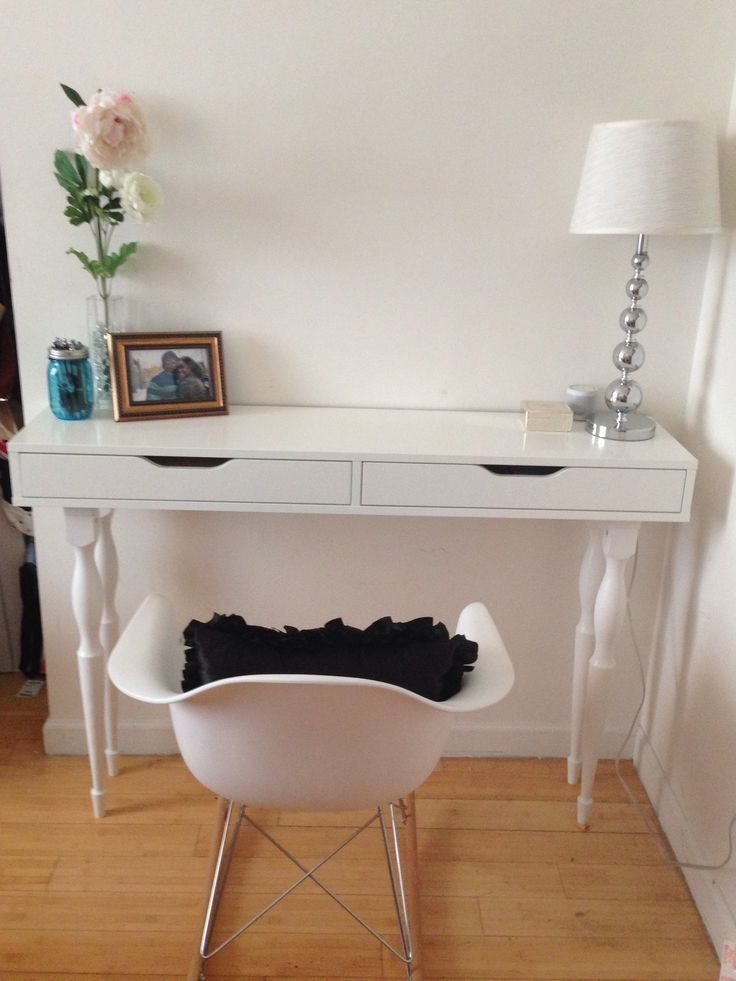 Ikea Hack Ekby Alex Shelf Nipen Table Legs My Diy Desk Julian Miles