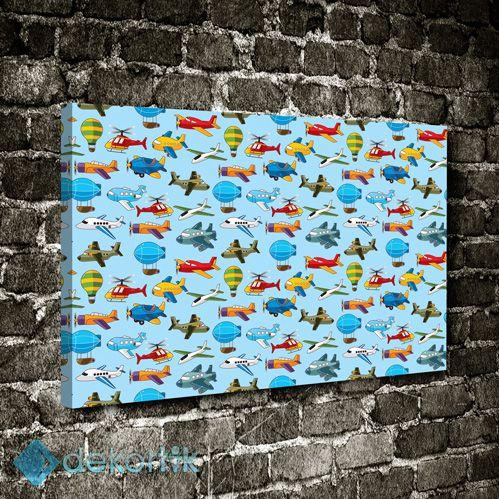 Uçaklar Tablo #çocuk_odası_tabloları #genç_odası_tabloları