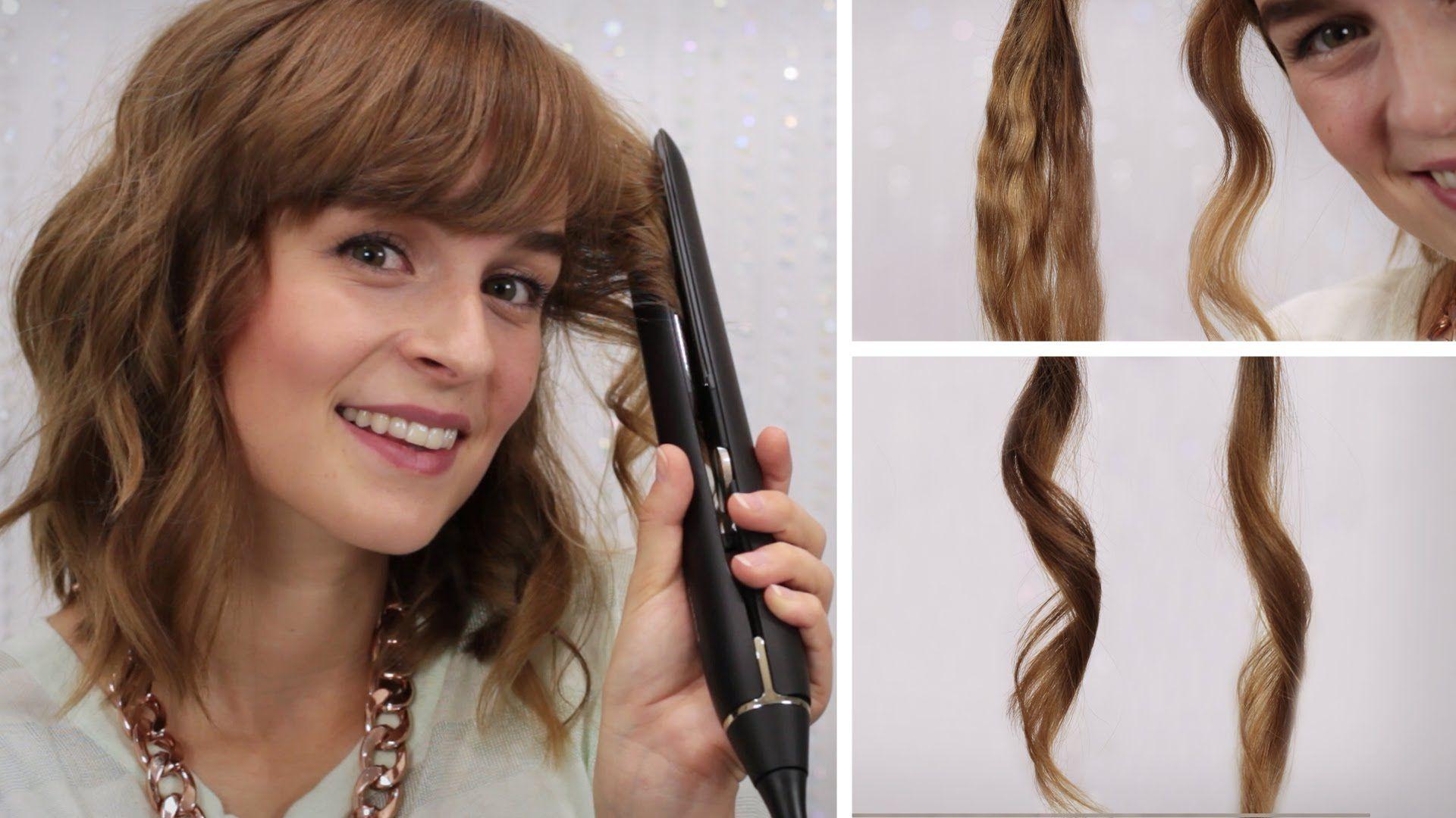 hairbst haare locken mit gl tteisen 4 stylings mein. Black Bedroom Furniture Sets. Home Design Ideas
