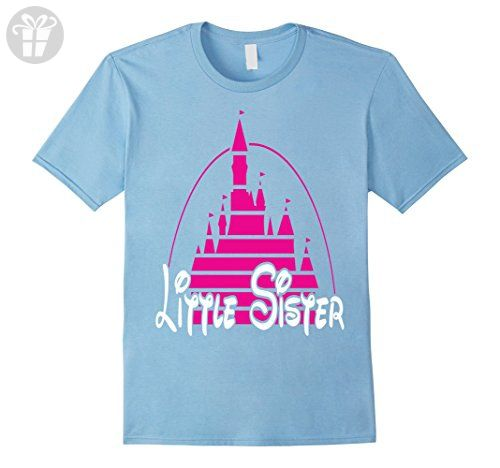 Mens Little best sister T-shirt funny daughter family birth gift 2XL Baby Blue - Funny shirts (*Amazon Partner-Link)