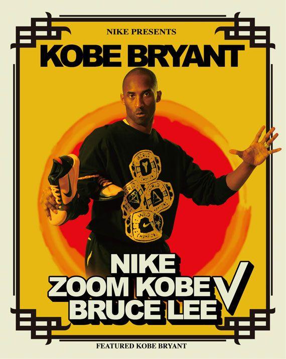 designer fashion 5acff ca690 Campaign for Nike Zoom Kobe V  Bruce Lee  (c. 2014)  Inspiration for mood  board