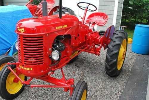 Massey Harris Tractor : Massey harris pony tractor obsession