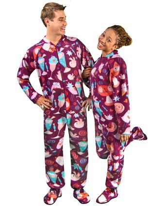 e4234494e3 Kawaii Candyshop Footie Pajamas