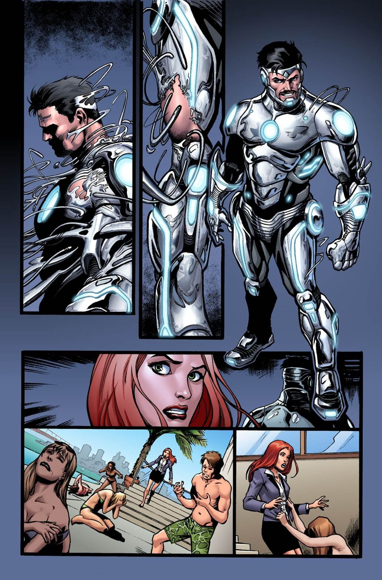 First Look: SUPERIOR IRON MAN #1 - Comic Vine