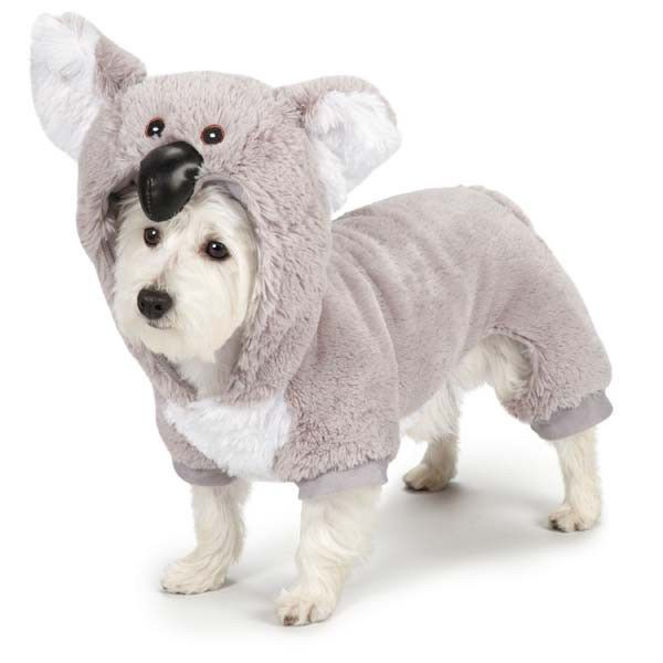 Dog Halloween Costume Koala Bear Costumes Zack Zoey Pet Brand