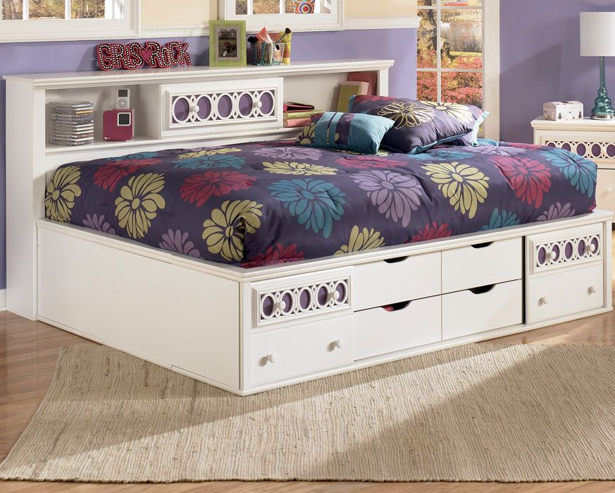 Beds With Storage Underneath Full Size Bed Storage Under Bookcase Bed
