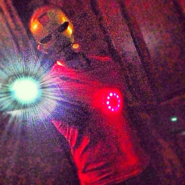 Iron Man Halloween costume for $15 by King Nerd.