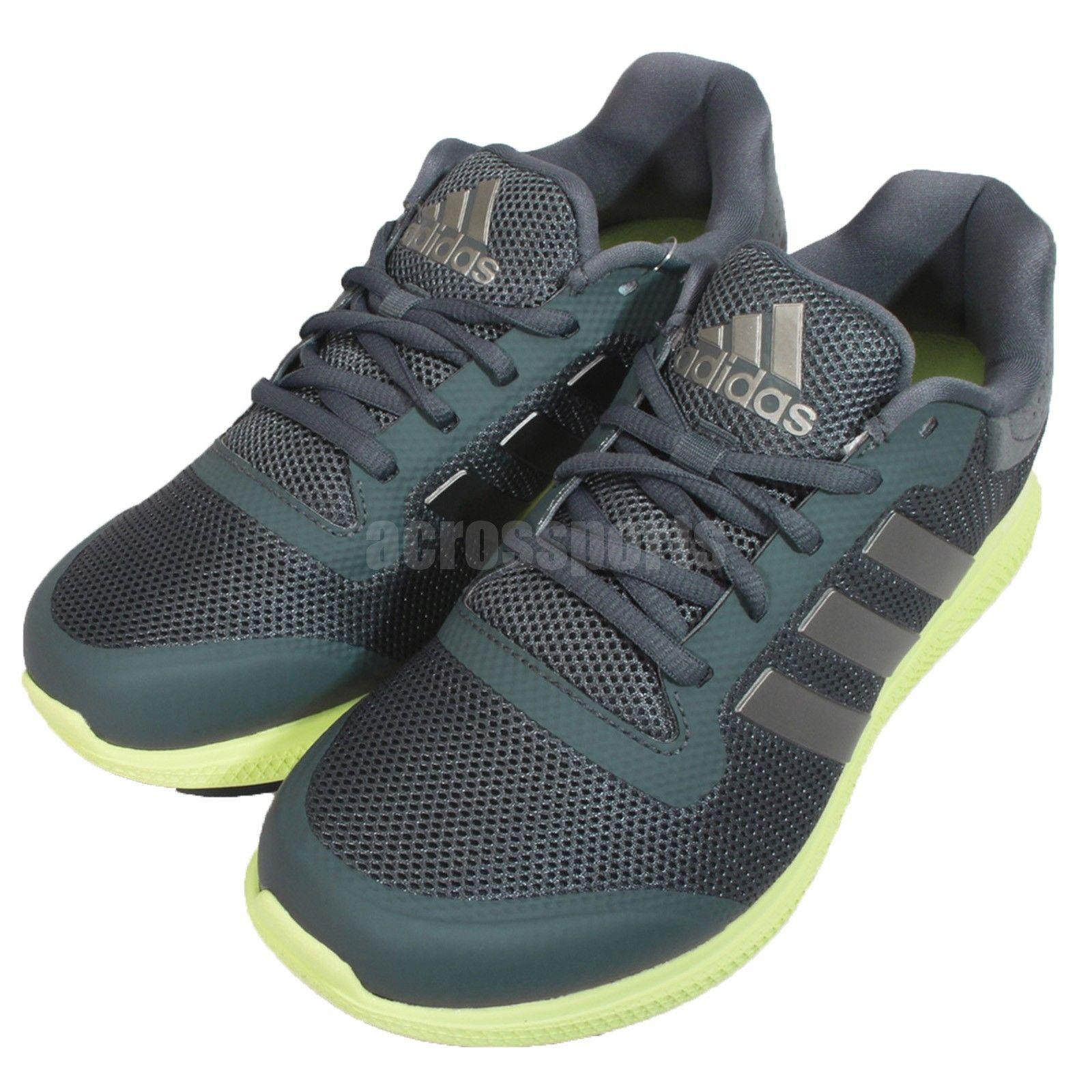 d7b7866e3 Adidas Energy Bounce W Grey Green Womens Jogging Running Shoes Sneakers  B33963