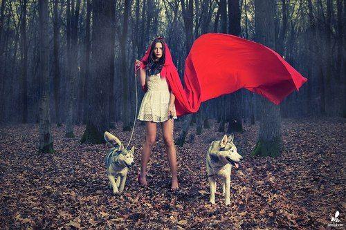 Red Riding Hood Tumblr Fotografie Pinterest Red