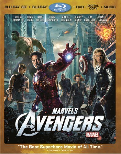Marvel S The Avengers Four Disc Combo Blu Ray 3d Blu Ray Dvd