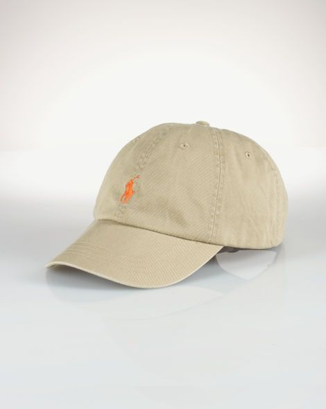 efa068093aff Cotton Chino Baseball Cap - Polo Ralph Lauren Hats - RalphLauren.com ...