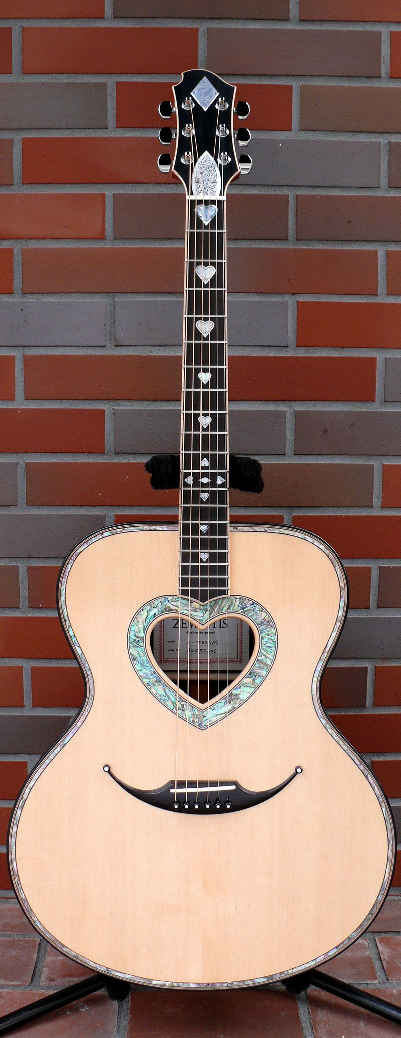 Zemaitis Guitars Zemaitis Acoustic Guitars Acoustic Guitar Guitar Guitar Inlay