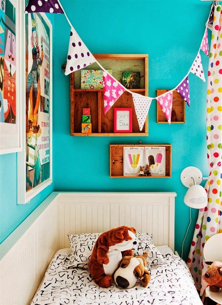Interiors: Colorful Swedish Home!