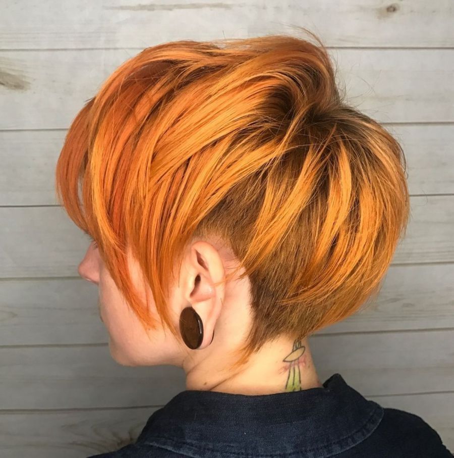 gorgeous long pixie hairstyles shorter hair pinterest