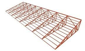 Cerchas resultado de imagen para cerchas metalicas para - Estructura metalicas para casas ...