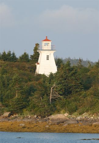 Abbott's Harbour Lighthouse, Nova Scotia Canada