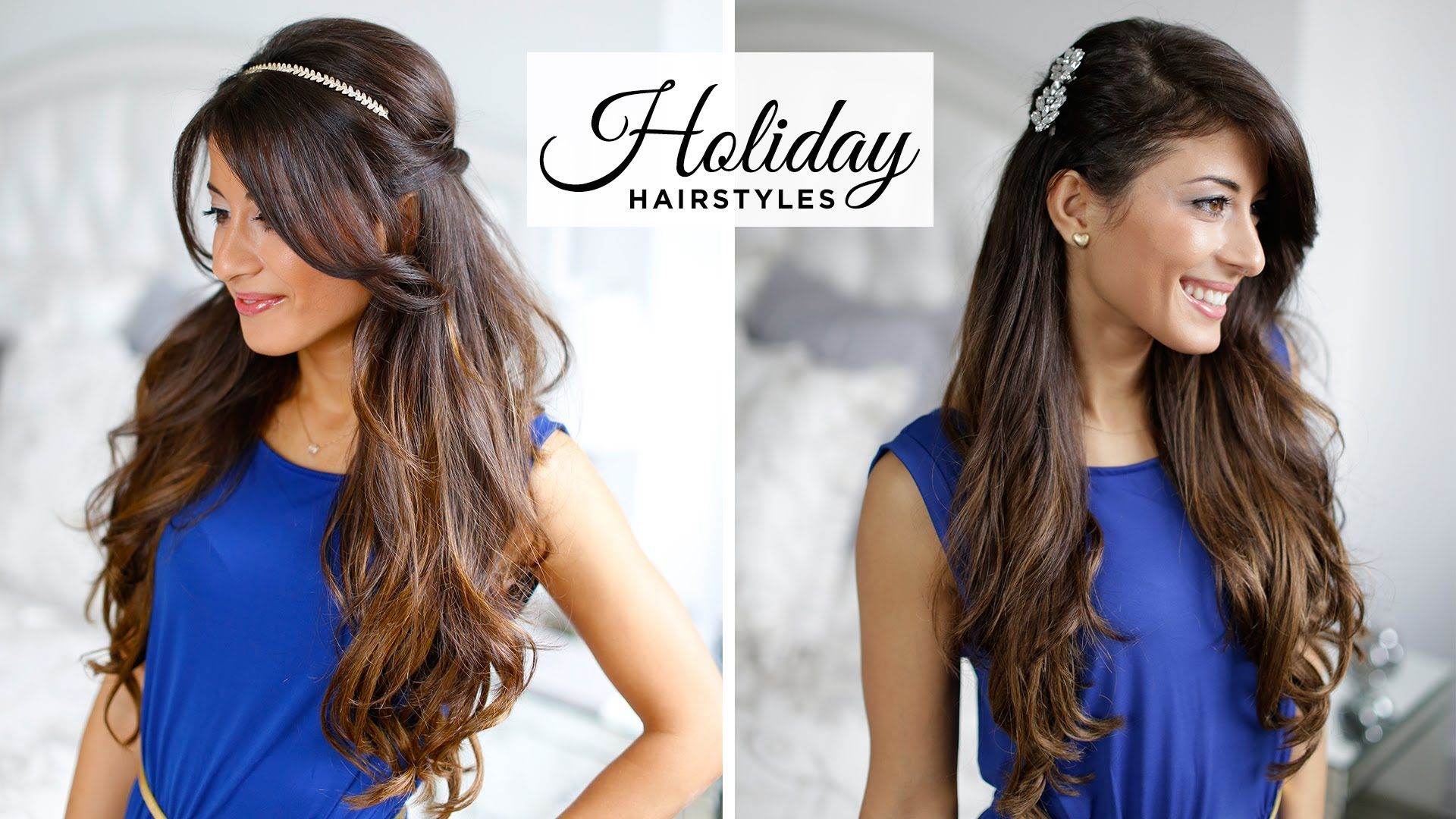 Here are some of my new favorite holiday hairstyles They are cute