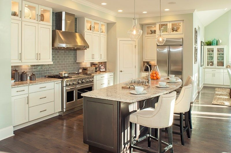 A stunning kitchen in a new home by David Weekley Homes in Chapel ...