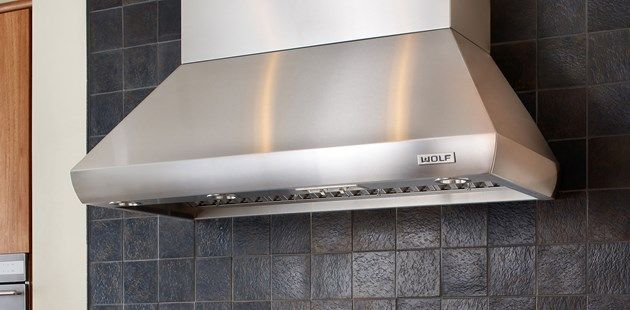 Pro Wall Chimney Hood Wolf Liances Kitchen