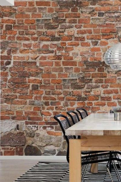 Mr Perswall - Captured Reality - Old Brick Wall - E020601-0 - Bespoke Sizes Available