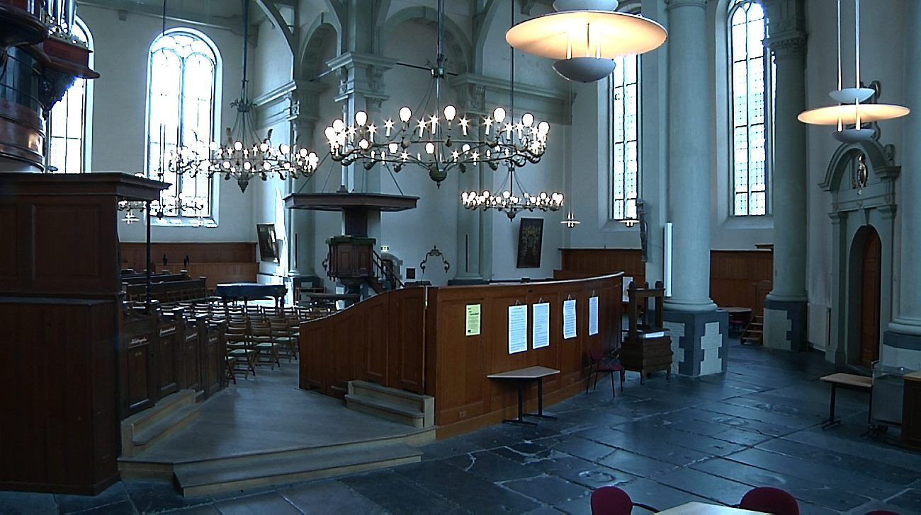 Noorderkerk interior Amsterdam | The Words in My Hand | Pinterest