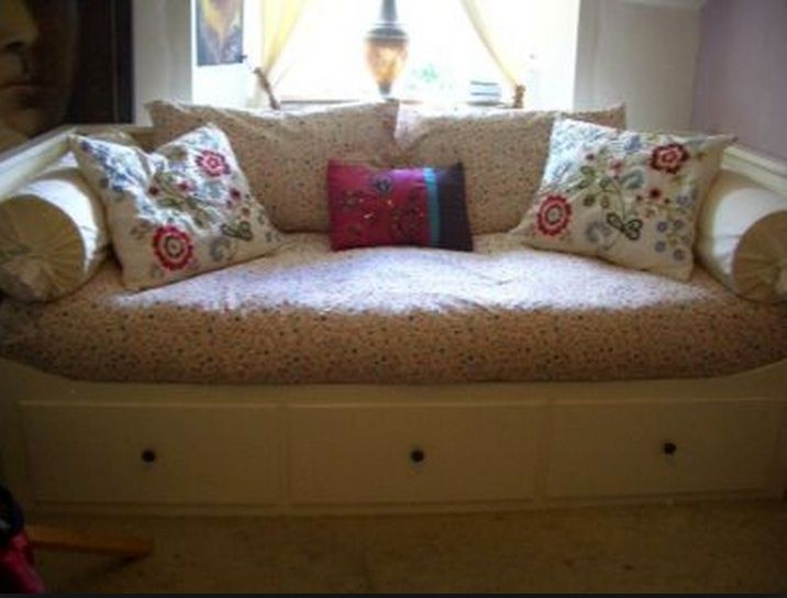 Hemnes Daybed Couchification Couch Idea Make A Cover So It S Not