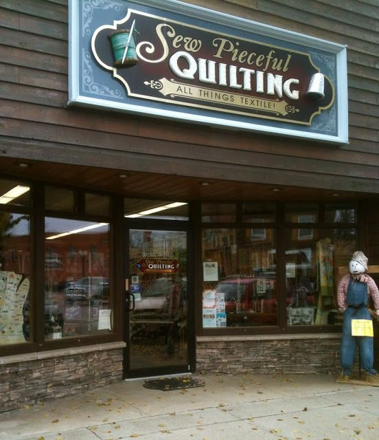 Sew Pieceful Quilting - Tomahawk, WI | Quilt | Pinterest | Craft ... : quilt shops in wisconsin - Adamdwight.com